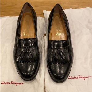 Tasseled Ferragamo Loafers - Great Condition